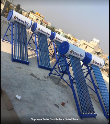solar water heater 100 ltr