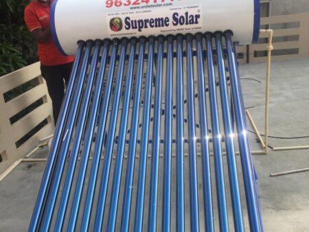 supreme solar 220 Ltr Price