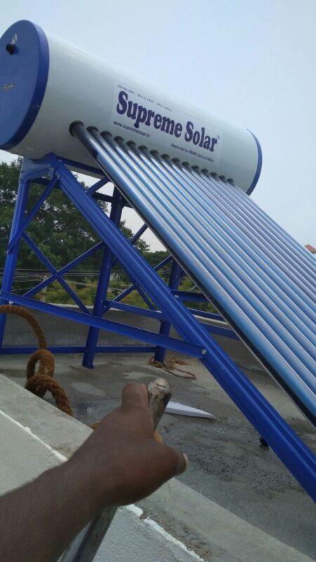 Supreme Solar 100 Ltr Water Heater