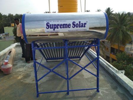 supreme solar 165 Ltrs