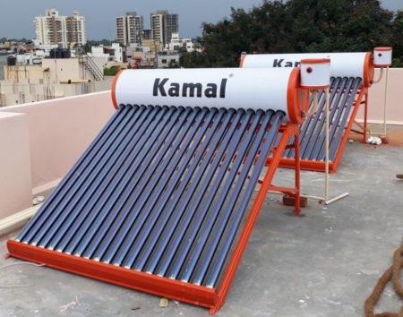 Kamal Solar 200 ltr Water heater (Air vent) 1