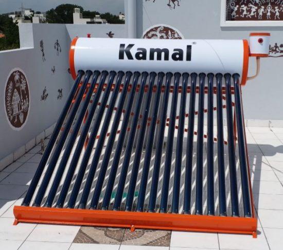 200 ltrs kamal solar