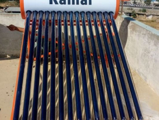 100 ltrs kamal solar water heater
