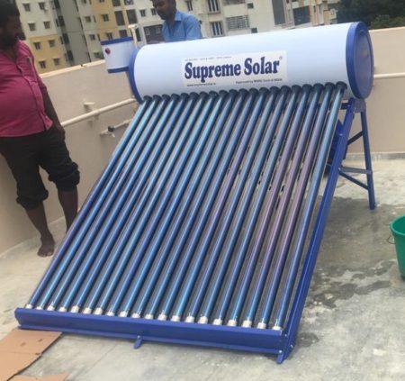 Supreme Solar 200 Ltr Copper Tank System