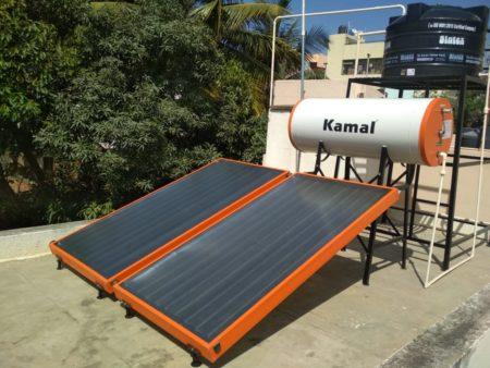 Kamal Solar 200 LPD FPC