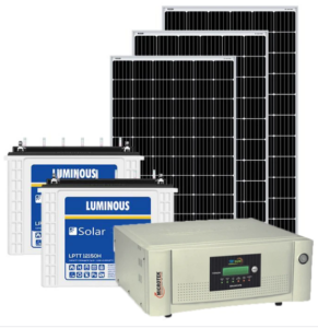 Solar Power Pack for 3 kw